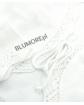Białe ażurowe bolerko dla dziewczynki 110 - 158