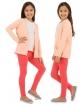 Gładkie legginsy bawełniane 116 - 158 Osiem kolorów