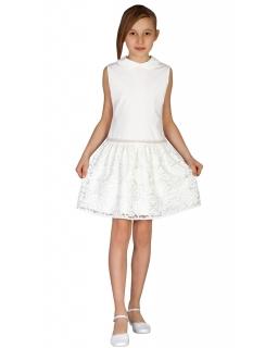 Sukieneczka na wyjątkowe okazje 92-158 Irma ecru
