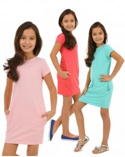 Sukienka tuba dla dziewczynki 116 - 158 KR109 Cztery kolory