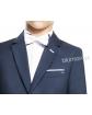 Klasyczny taliowany garnitur 128-152 Dawid White