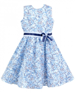 Letnia, rozkloszowana sukienka 104-128 Faria 2