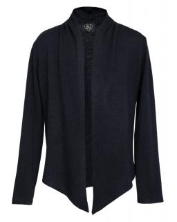 Elegancki sweter - narzutka 122-164 501a/SZK biel