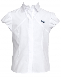 Klasyczna koszula na guziki 122-152 101/SZK biel