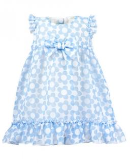 Letnia sukienka dla maluszka 68-86 Malwinka niebieski