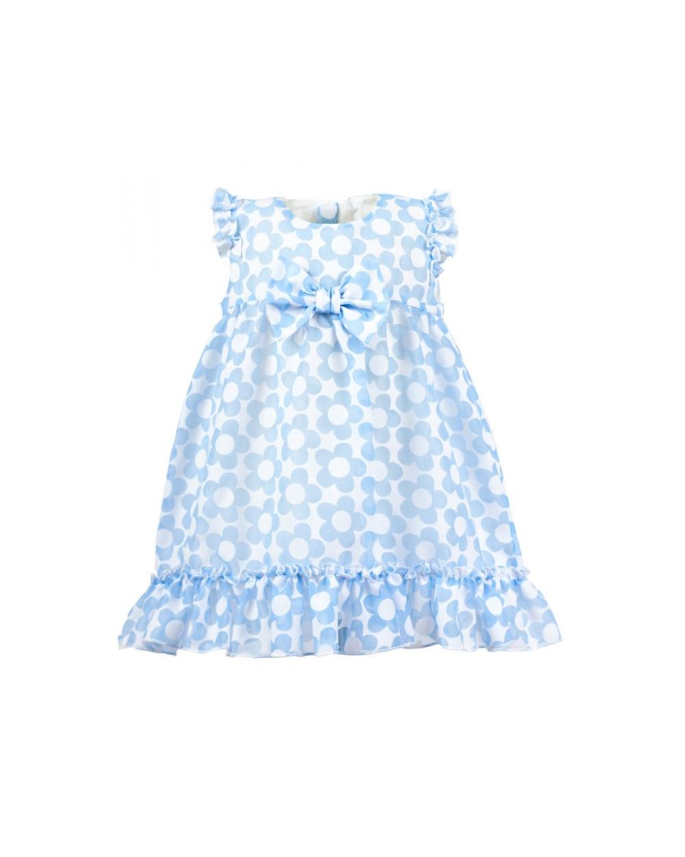 2247083b86 Letnia sukienka dla maluszka 68-86 Malwinka niebieski