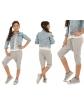 Krótkie legginsy baggy 116-158 KRP28 Mix kolorów