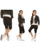 Krótkie spodnie baggy 116-158 KRP28 Mix kolorów