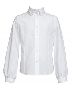 Koszula dziewczęca z haftem 122-146 134/SZK biel