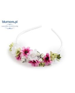 Kolorowa opaska z pięknymi kwiatkami OP67