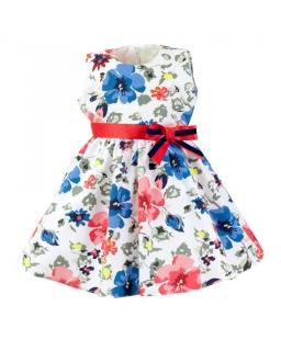 Sukienka w kolorowe kwiaty 86-116 Tola multikolor