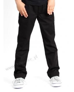 Chłopięce spodnie rurki 98 - 164 Alek czarne