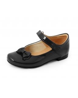 Lakierowane buty dla dziewczynki 28-36 BA10 czarny