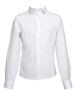 Klasyczna koszula dla dziewczynki 128-158 113/SZK biel