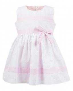 Delikatna sukienka na lato 74-92 Zosia róż