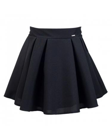 Klasyczna szkolna spódnica 128-158 Wanda czarny