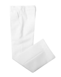 Eleganckie spodnie dla chłopca 122-146 Borys białe
