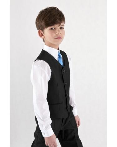 71a27847acc Komplet kamizelka i spodnie dla chłopca 92-128 Pol grafit
