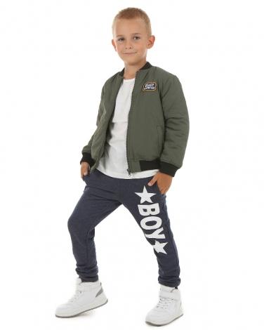 Sportowe spodnie Boy 116-158 KRP83 granat