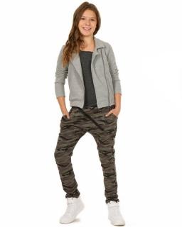 Spodnie dresowe z szerokim krokiem 116-158 KRP84 Moro