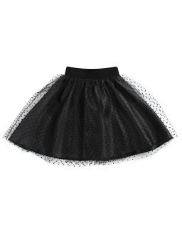 Modna tiulowa spódniczka 122 - 158 Sabrina czarny