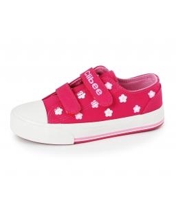 Szkolne trampki dla dziewczynki 31-36 16/CLB róż