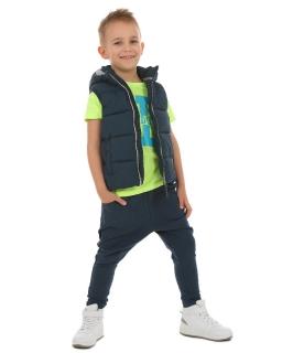Spodnie baggy z zamkiem 116-158 KRP94 Moro