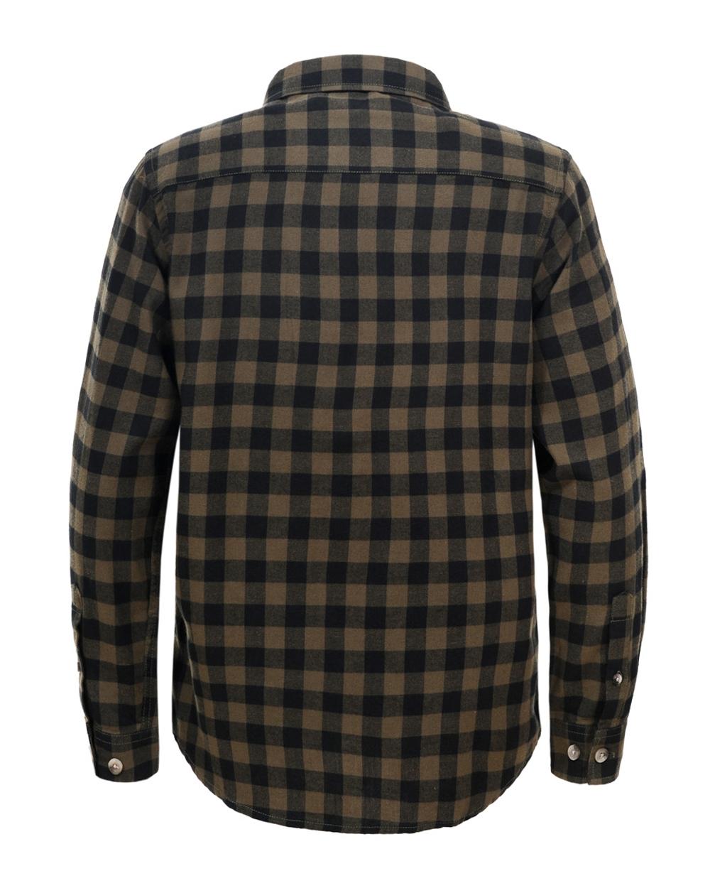 2218b3d6b5c562 Sportowa koszula do jeansów 134-146 BCS-4831 czarny plus zielony