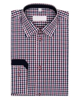 Koszula w drobną kratę 116-172 KS18
