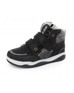 Wyższe buty dla chłopca 34 - 38 35/CLB czarne