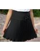 Stylowa plisowana spódnica 116-152 sd10 czarna