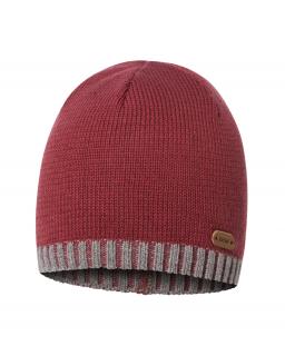 Bawełniana czapka dla chłopca 45-51 BRL05 Czerwony