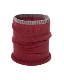 Chłopięcy komin z bawełny BRL05 Czerwony