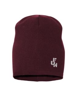 Uniwersalna chłopięca czapka 45-56 BRL06 bordo