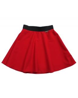 Rozkloszowana spódnica 140-164 Danusia czerwień