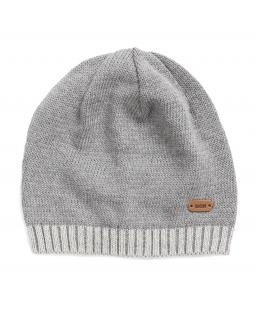 Chłopięca czapka 45-51 BRL05 Szary