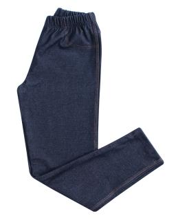 Dziewczęce legginsy jak jeansy 104-170 TP02 granat