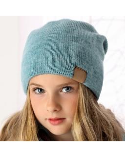 Stylowa czapka dla dziewczynki AJS/34-439