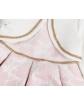Sukienka z bolerkiem dla dziewcyznki 1-4 Iza ecru plus róż