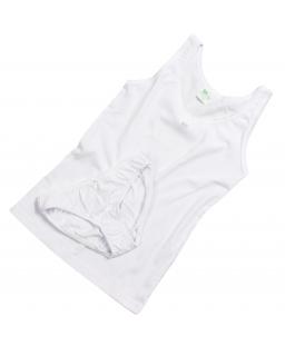Komplet bielizny dla dziewczynki 122-158 Roma biel