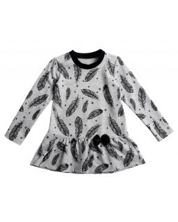 Bawełniana-sukienka-dla-dziewczynki