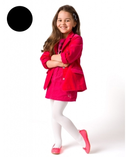 Czarne rajstopy dla dziewczynki, 100 den, black tights for girl
