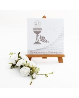 Zaproszenie na Komunię, kartka, Invitation for Communion, card, online