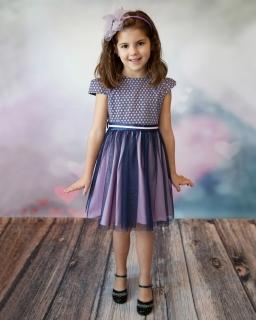 Tiulowa-sukienka-z-żakardem