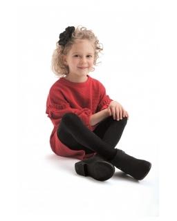 Rajstopy dla dziewczynki, czarne, tights for girl, black, sklep online