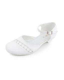 Białe czółenka dla dziewczynki, shoes for girl, store, sklep