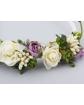 Opaska z pięknymi kwiatami OP05