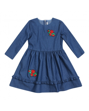 Sukienka dla dziewczynki, jeansowa, dress for girl, jeans, sklep