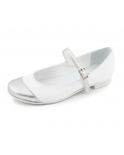 Baleriny dla dziewczynki do komunii, Shoes for a girl for communion