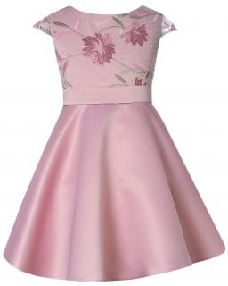 Różowa sukienka dla dziewczynki, dress for girl, sklep internetowy